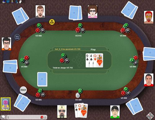 Texas Hold'em Online MagnoJuegos