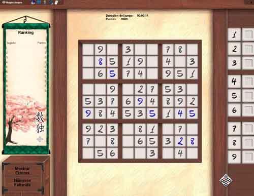 Sudoku Online MagnoJuegos