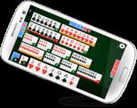 juego canasta online de MagnoJuegos en el m�vil
